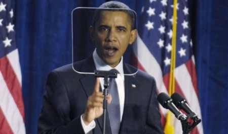 Obama Teleprompter 524