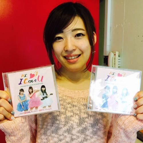 デビューCD完成!聴かせもらったんですが、3人の中で最もイイ感じ!(#yuuki)