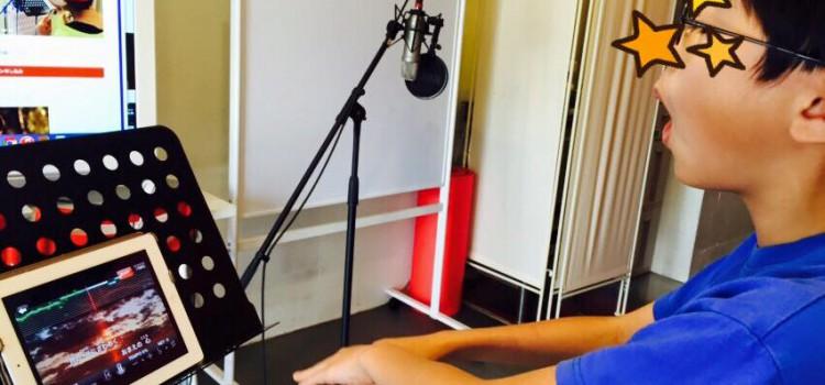 身体を自在に動かして、ハイトーンを歌いこなすボーイソプラノの男の子のレッスン。(#jean)