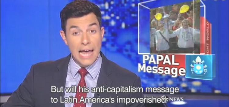 【ローマ法王のメッセージは反過剰資本主義】anti-capitalism, exploit, villain