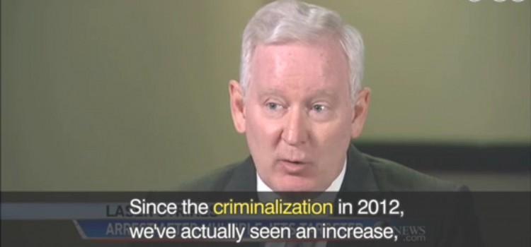 【旅客機にレーザー照射】criminalization, trend, store-bought, stricter control