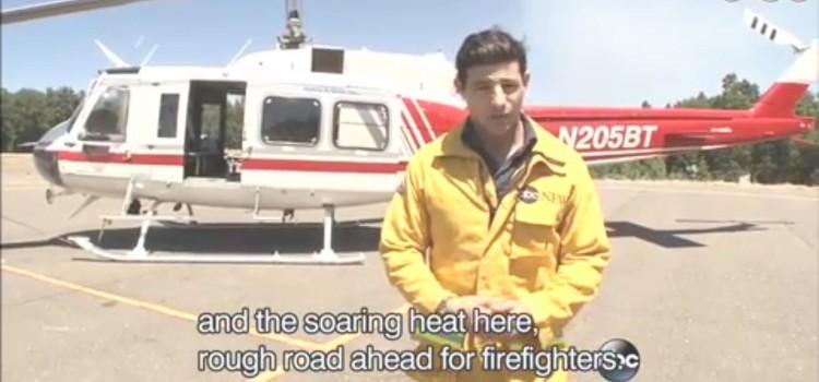 【カリフォルニア州の山火事】rough road ahead for fire fighters