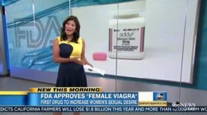 アメリカで女性用バイアグラが認証されちゃいましたw!