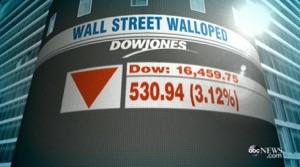 ニューヨーク株暴落!
