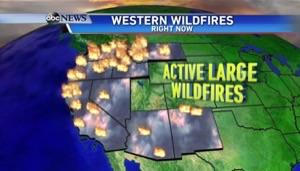 消防士が足りない!アメリカ西海岸の山火事。