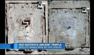 ISISが世界遺産を破壊し続けています。