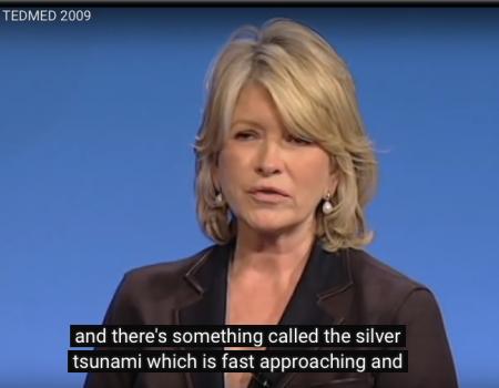 Martha Stewart をローボイスのお手本に