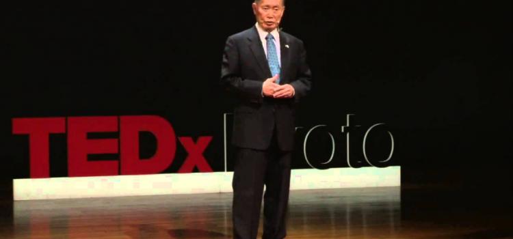 【TED】「かつて自分を裏切った祖国を愛している訳」George Takei
